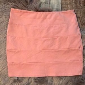 Peach 🍑 Mini Skirt